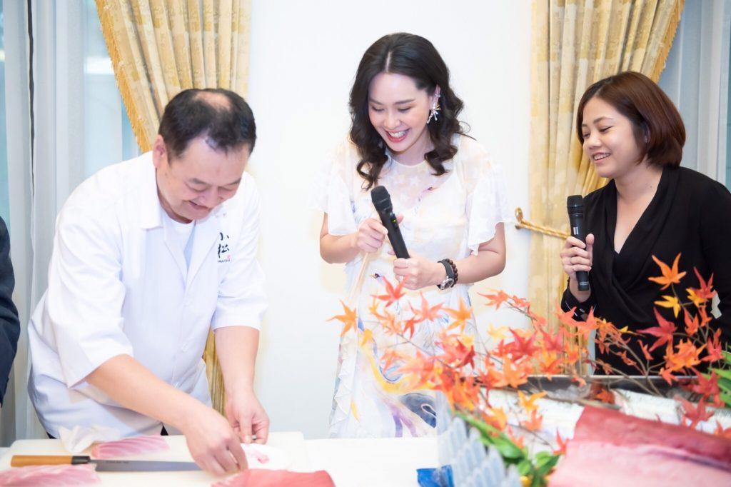 Marine Eco label Japan week in Bangkok Restaurant Fair