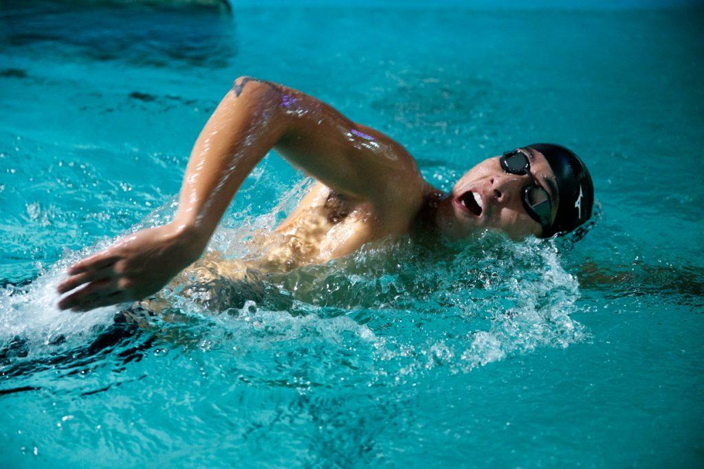 โตโน่ ภาคิน ทุ่มซ้อมว่ายน้ำ 2